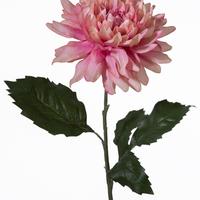 Dahlia Artificielle Vieux Rose 69 Cm