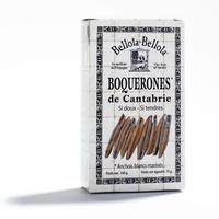 """Anchois marinés """"Boquerones"""", une boite de 100g"""