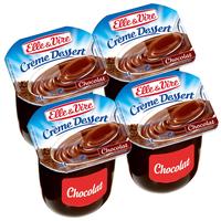 Creme Dessert Chocolat E&V 125 Gr Paquet X 4 Pieces
