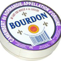 Camembert Bourdon AOP, Lait cru, colis de 12 pièces