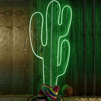 Cactus Décoratif Avec Lumière Led Ref 46597