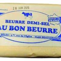 Beurre moulé demi sel Kerguillet, colis de 24 pièces