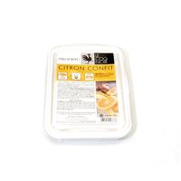 Citron confit au gingembre barquette 700g