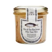 Filets de thon blanc Germon à l'huile d'olive, 12 pièces de 225g