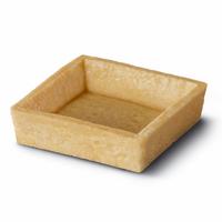 Tartelette dessert carrée 7cm à garnir x120