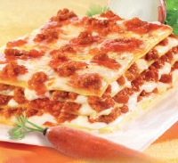 Lasagne Emiliana Viande, 2 barquettes de 2,5kg