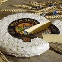 Brie de Melun St Faron  AOP, Lait cru, colis de 2 pièces
