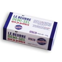 Beurre Demi-sel X 250 Gr au Kg
