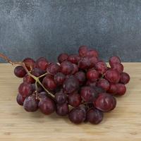 Raisin Noir/Red Globe, barquette de 500g