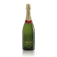 Champagne Collet brut Art Déco