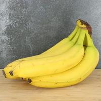 Banane plantain jaune colombie, colis de 5 pièces