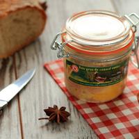 Verrine foie gras canard 185g,12 bocaux