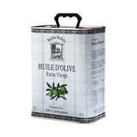 Huile d'olive Bellota-Bellota 100% Arbequina 3L, colis de 4 bidons