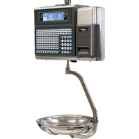 Balance poids-prix MISTRAL 520 S Inox LCD 6/15 kg / 2/5 g