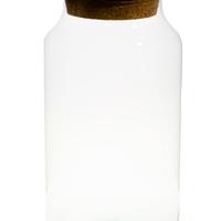 Bonbonnière Hermétique En Verre H 31 Cm D 20,5 Cm