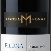 Piluna Primitivo Sal Igt  0,75, colis de 6 bouteilles