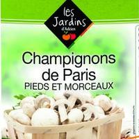 Champignons Paris Pied & Morceaux 4/4 Boite