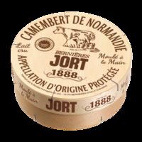 Camembert Jort Pyrogravé AOP, Lait cru, colis de 12 pièces