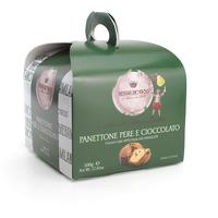 Panettone Classico Poire Chocolat Regalo 500g