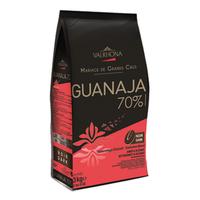 Chocolat de couverture noir 70% Guanaja fèves 3kg