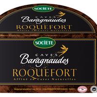 Roquefort Baragnaude 1/2 pain AOP, Lait cru, colis de 4 pièces