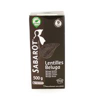 Lentilles Beluga noire 500g