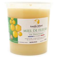Miel de fleurs de printemps origine Eure‑et‑Loir pot 1kg