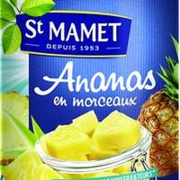 Ananas Au Sirop Boite 4/4 Boite