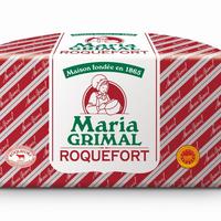 Roquefort 1/2 pain Maria Grimal AOP, Lait cru, colis de 2 pièces