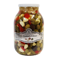 Cocktail d'olives 2,5kg, colis de une pièce