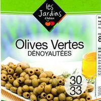 Olive Verte Dénoyautée Boite 4/4 Boite FRANCE   cat.1