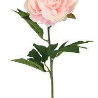 Pivoine Artificielle Rose 1 Bouton 76 Cm