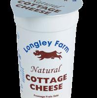 Longley Farm Cottage cheese, colis de 6 pièces de 250g