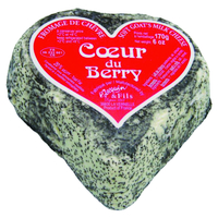 Cœur du Berry frais cendré, colis de 6 pièces
