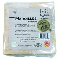 Maroilles AOP Lait 2 Fermes au lait cru, colis de 6 pièces
