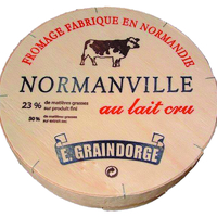 Normanville Fromagerie Graindorge, colis de 2 pièces