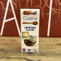 Lait Coco Cuisine Bio 20Cl, colis de 24L