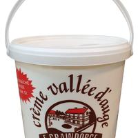 Crème Vallée Auge 5L 42 %, colis de 1 seau de 5L
