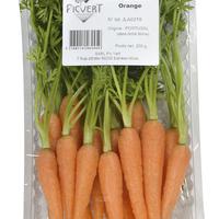 Mini Carottes Oranges Barquette 200Gr Picvert