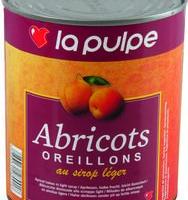 Abricots Au Sirop Leger 4/4 Boite