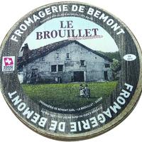 Le Brouillet au lait cru Bemont, colis de 4kg