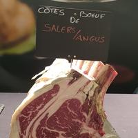 Cote de bœuf salers/angus maturee,colis de 9kg (stockinette)