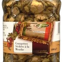 Courgette Sechee Menthe 1,5kg, colis de 6 unités