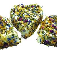 Cœur du Berry frais aux fleurs, colis de 6 pièces