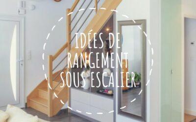 Optimiser l'espace sous l'escalier par des idées de rangements originales