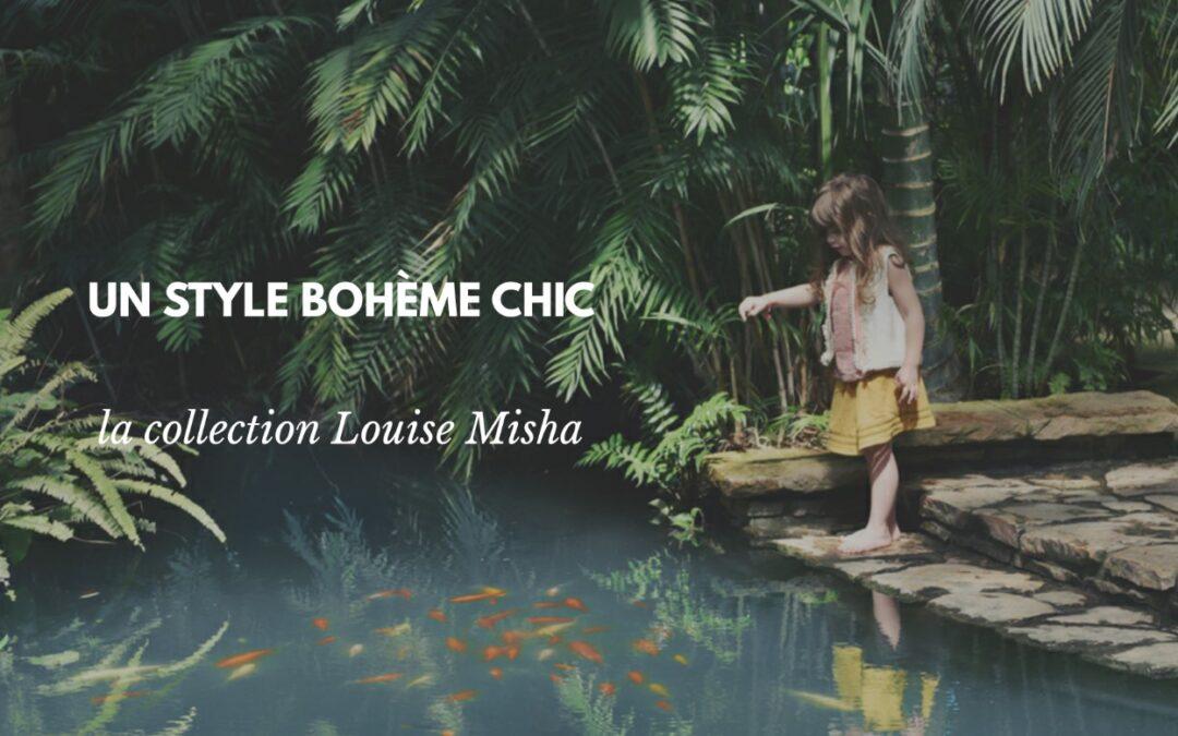 Habiller la famille avec les collections vertes de Louise Misha
