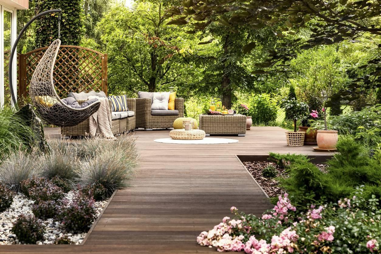 mobilier de jardin pour jardin chic