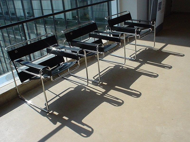 L'histoire de la chaise Wassily B3 de Marcel Breuer