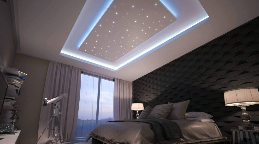 Déco : un ciel étoilé pour la chambre