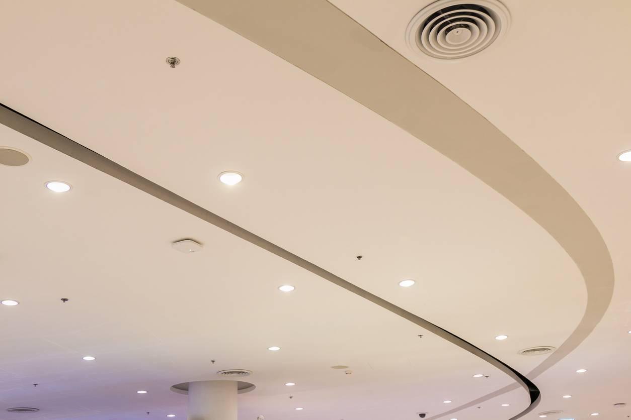 plafond ciel étoilé led